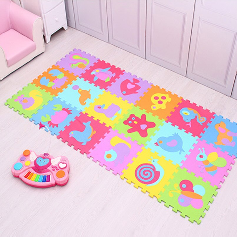 Babies' Animal Themed Puzzle Carpet